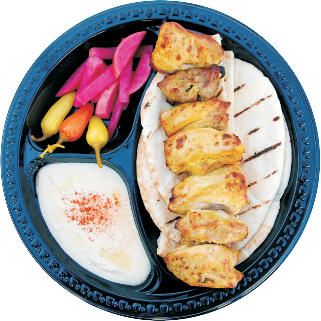 #1 Chicken Shish and Hummus