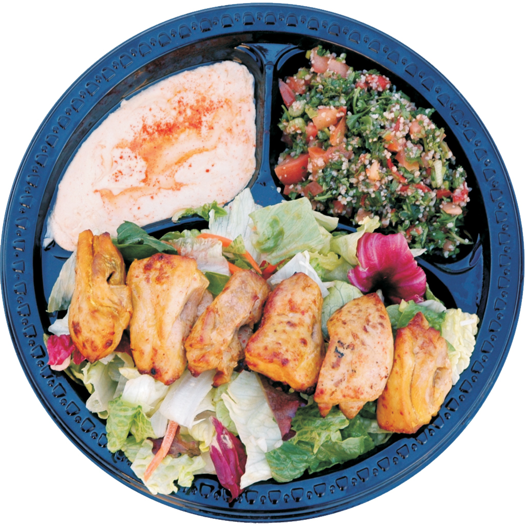 #25 Chicken Shish Kabob Salad